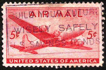 014 USA - United States of America - Wert 5 c - Air Mail