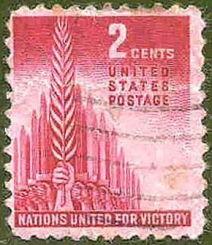 016 USA - United States Postage - Wert 2 Cents - Nations United for Victory