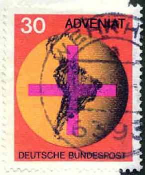 027 Deutsche Bundespost - Wert 30 - Adveniat