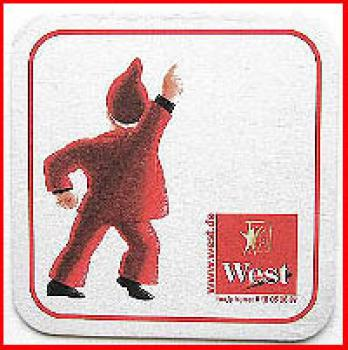 Bierdeckel (9) - West - Ich Disco King, du wildes Ding