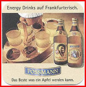 Bierdeckel (59) - Possmann Energy Drinks