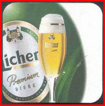 Bierdeckel (58) - Licher Bier - Licher Mixes 2