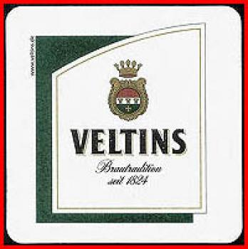 Bierdeckel (68) - Veltins - Brautradition seit 1824