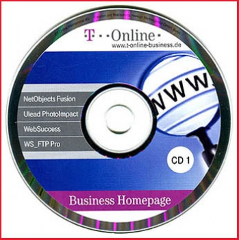 CD - T-Online Business Homepage - CD 1