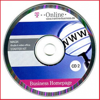 CD - T-Online Business Homepage - CD 2
