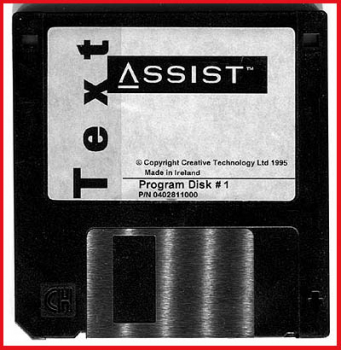 Diskette - Assist Text - Program Disk 1