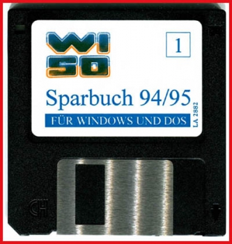 Diskette - Wiso Sparbuch 94/95 - Diskette 1